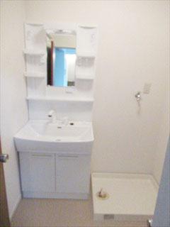 洗面所/シャワー付き洗面台・洗濯機スペース